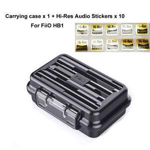 For FiiO HB1 Waterproof Earphone Carrying Case Hard Travel Portable Case