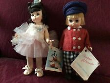8� Madame Alexander Tommy Snooks & Ballerina - 1982 $ 1988 - Tagged