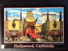 CPM 1996 HOLLYWOOD BLVD WORLD FAMOUS CHINESE THEATRE