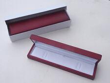 ORIGINALE IN LEGNO ROSSO Bracciale BOX Classic Premium Orologio Portagioie
