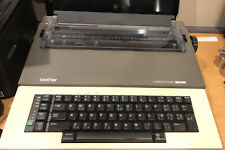 Used Brother Compactronic 333 Electric Electronic Typewriter With Cover