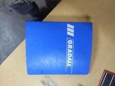 Gradall G880 Special Industrial Parts Manual