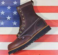 "Thorogood 8"" American Heritage Wedge Soft Toe Work Boot [814-4269] Closeout USA"