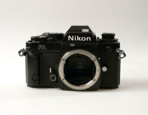 bi1/8 NIKON FA  black  Spiegelreflexkamera