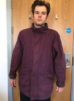 timberland weathergear Coat Men's Size S L XL XXL 2xl Jacket Real Leather Trim