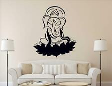 Lord Ganapathi Wall Sticker Mural Vinyl Decal Art Home Room DIY Decor Wallpaper