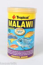 2x Tropical Malawi Escamas 1000ml Barschfutter Comida para Peces Agua Dulce