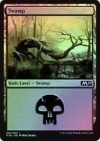 MTG Swamp 269/280 Core Set 2019 M19 FOIL Land Magic the Gathering NM/M