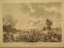 incisione acquaforte battaglia di San Giorgio presso Mantova Carle Vernet 1820