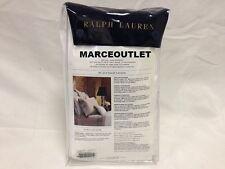 Ralph Lauren Home Langdon Solid 624 Thread Count KING Bedskirt Deco White