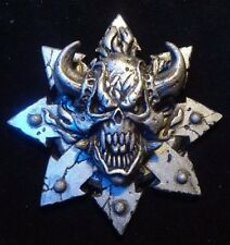 40k Space Marines Chaos Word Bearers pin