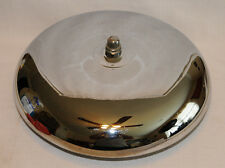 """Vintage 14"""" Chrome Polished Ring Side Boxing Fire House Dinner Mounted Bell"""