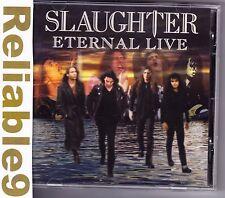 Slaughter - Eternal live CD + enhanced multimedia - 1998/2001 Sanctury England