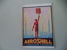 advertising Pubblicità 1933 AERO SHELL AEROSHELL OIL OLIO