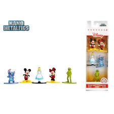 Nano Metalfigs Disney 5 model figures Mickey Minnie Mouse, Alice, Stitch, Kermit