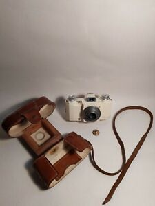 Vintage Ilford 35mm Advocate Camera & Original Leather Case