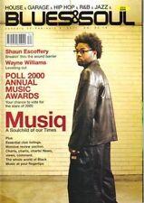 Musiq on Blues & Soul Magazine Cover 2001    Wayne Williams    Shaun Escoffery