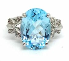 Heating Sterling Silver Solitaire with Accents Fine Rings