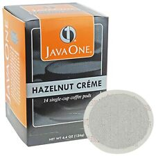 Java One Single Cup Coffee Pods Hazelnut Creme 14 count