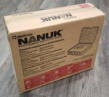 Nanuk 910 - Waterproof Hard Case - Black with Cubed Foam - Brand New