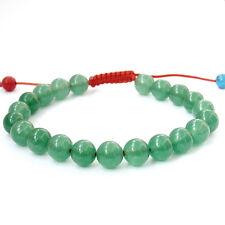 8mm Green Jade Tibet Buddhist Prayer Beads Mala Bracelet