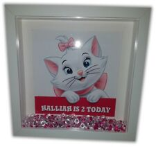 MARIE ARISTOCATS Personalised Diamante Box Frame - Disney Print and Frame