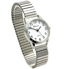 Ravel Ladies Super-Clear Quartz Watch with Expanding Bracelet sil #36 R0232.01.2