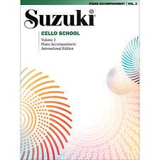 Suzuki Cello School - Vol 2 - International Edition - Piano Accompaniment Book