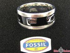 Fossil Damen Herren Edelstahl Ring JF83566 Gr.: 20mm / 63 UVP:49,90€ NEU !