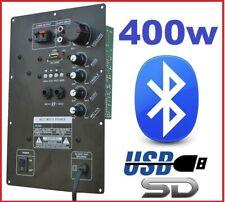 MODULO AMPLIFICATORE PANNELLO 400W RICAMBIO CASSE ACUSTICHE CON BLUETOOTH USB-SD