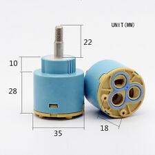 35mm Ceramic Disc Cartridge Inner Faucet Valve Water Mixer Tap