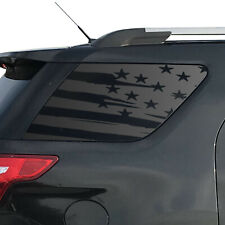 Distressed USA Flag Decals for Ford Explorer 3rd window Sport 2011-2019  XR1-FE5