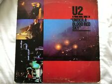 U2 UNDER A BLOOD RED SKY MEXICAN MEXICO LP REVERSE COVER VERY RARE