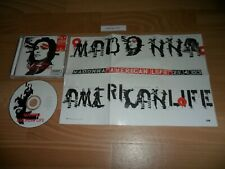 MADONNA - AMERICAN LIFE (RARE EXCLUSIVE AUSTRALIAN CD ALBUM + FOLD OUT POSTER)