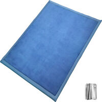 Baby Play Mat Crawling Rug Coral Fleece Blanket Thickened Carpet 2x2.4M Non-Slip