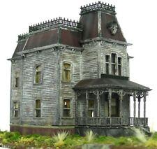 HO Custom Built Painted Weathered Bates Motel Mansion Psycho House Building