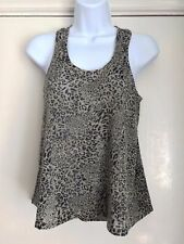River island Size 8 (UK) 34 (EUR) Animal Print sleeveless vest top Ladies