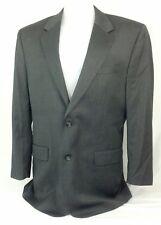 Jos A. Bank Mens Gray Wool Suit Blazer Size 46L