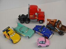 4 ) Disney Pixar Cars Set 6 verschiedene Cars Autos Auto LKW  - aus Metall