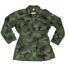 Military army surplus camouflage winter parka jacket with removable liner