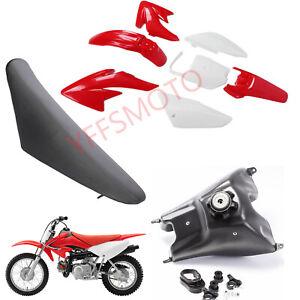 Plastics Fender & Fuel Tank & Seat for Honda CRF70 CRF70F XR70 SSR SDG Pit Bike