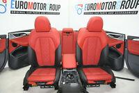 BMW G01 X3 pelle Sedili Interiori Sitzbelueftung Individuale Fionarot Pelle Seat