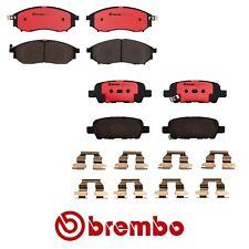 Brembo Complete Front & Rear Brake Pad Set for Nissan 350Z 06-09 V6 3.5L