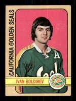 1972-73 Topps #146 Ivan Boldirev EX/EX+ RC Rookie Seals 514647