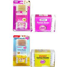 550 pcs Sanitary Cotton Swab Bud Q-tip Clean Makeup Double Tip Wooden Stick AD-5