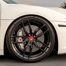 """20"""" Vorsteiner V-FF 105 Forged Concave Gloss Black Wheels Rims Fits Nissan GT-R"""