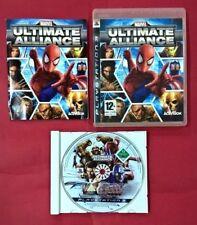 Marvel: Ultimate Alliance - PLAYSTATION 3 - PS3 - USADO - BUEN ESTADO