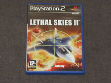 Lethal Skies 2 PS2 Complete FAST & FREE POST - PAL