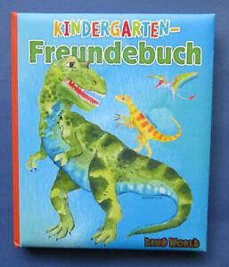 Dino World Kindergarten Freundebuch von Depesche 11081_A Neu