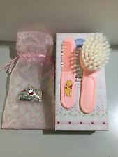 Spazzola e pettine Winnie the Pooh rosa - DISNEY WP1075/R regalo per nascita